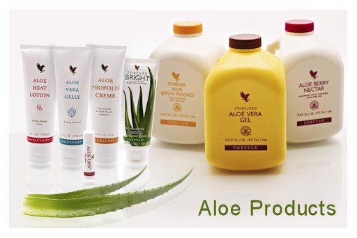 Aloe Vera Forever Living Products in Almond