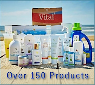 Aloe Vera Products by Forever